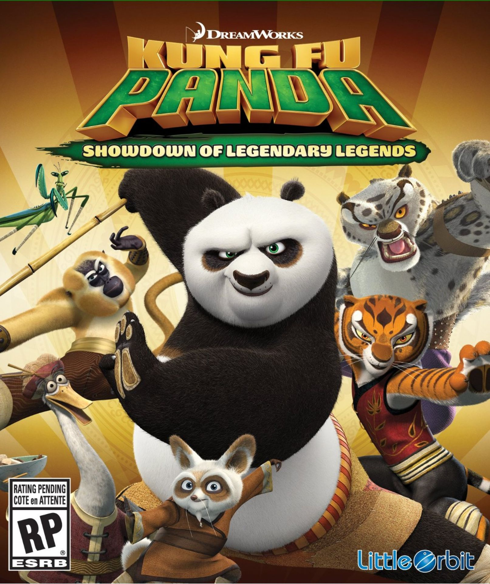 Kung Fu Panda Showdown of Legendary Legends 2016