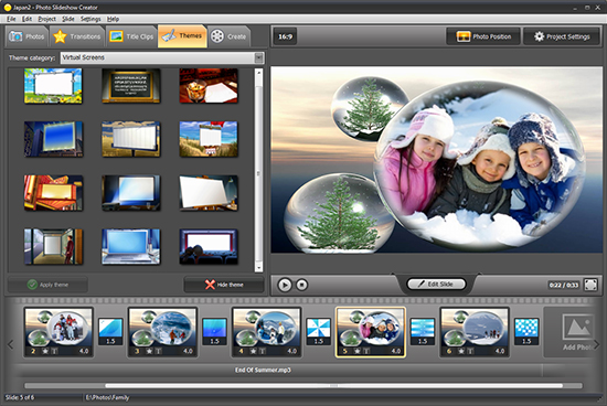Smartshow slideshow maker || smart slideshow software.