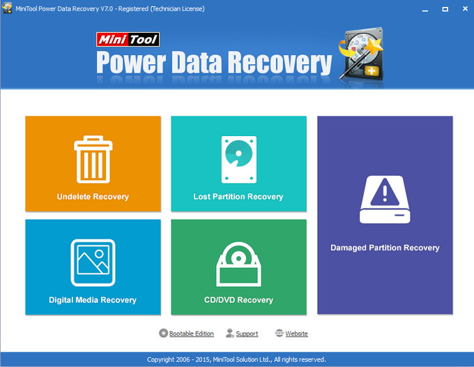 MiniTool Power Data Recovery 7