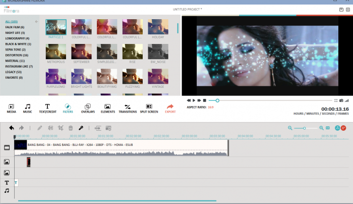 serial number video editor wondershare