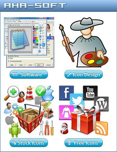 Aha-Soft Icon Software Collection Full