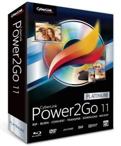 CyberLink Power2Go Platinum 1 Crack Serial Key 2017