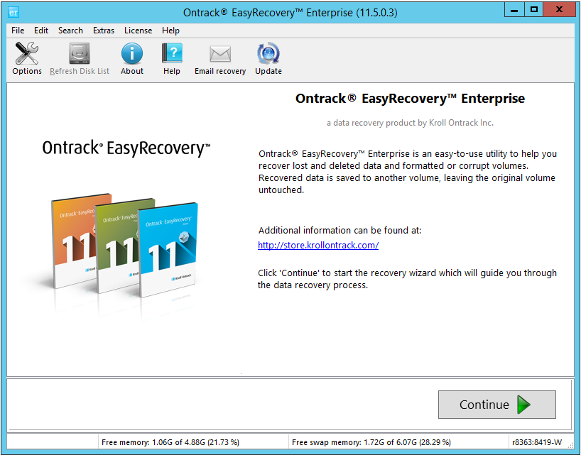 ontrack easyrecovery professional 6.04