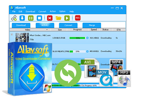 Allavsoft Video Downloader Converter Crack Serial Key