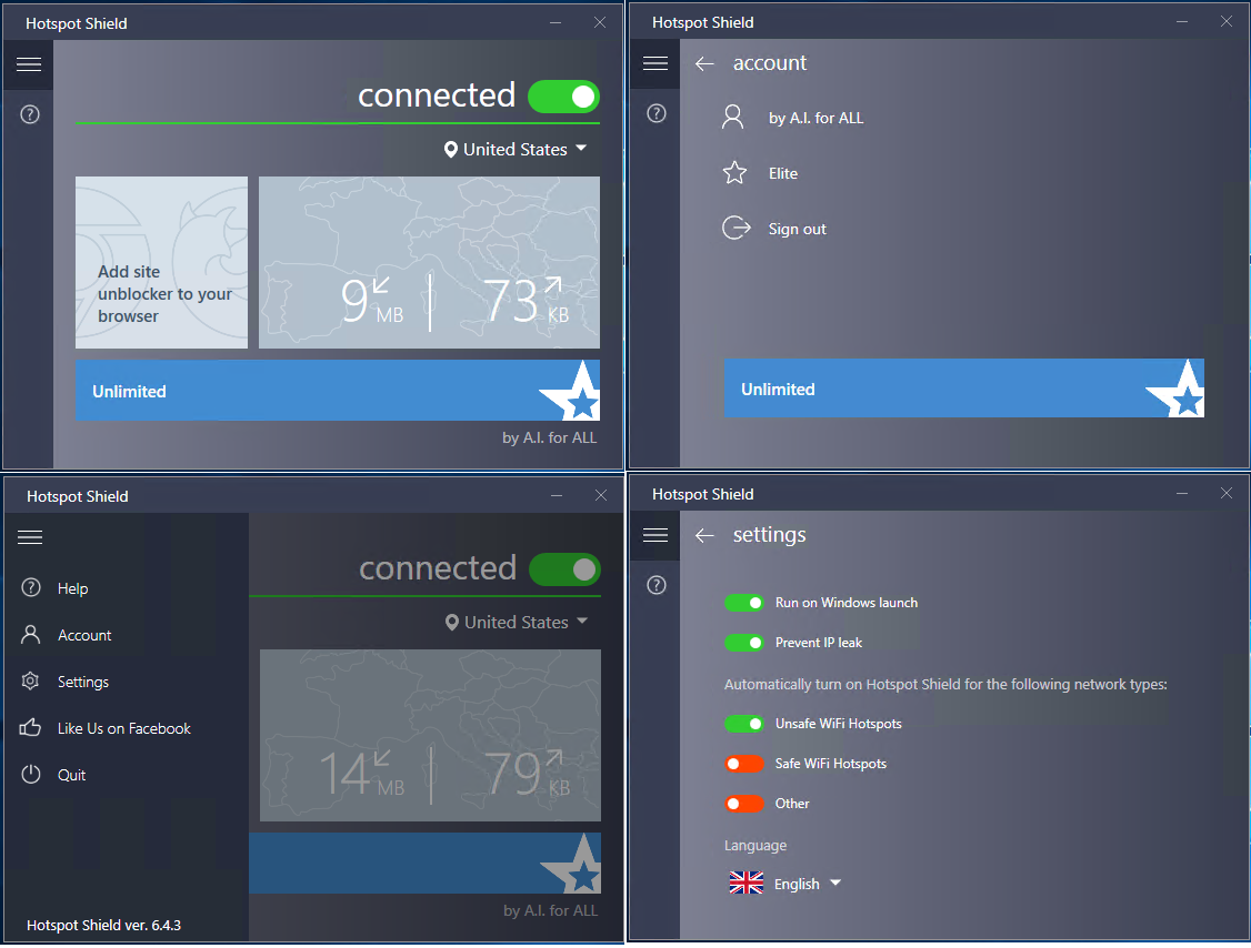 Hotspot Shield VPN Elite Crack Full Version