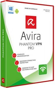 Avira Phantom VPN Pro Crack Patch Keygen License Key