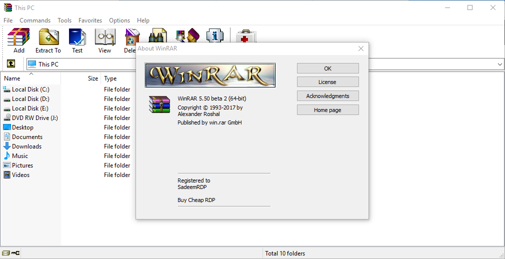 WinRAR 5.50 Beta 2 (x86/x64) With Crack + Portable ...