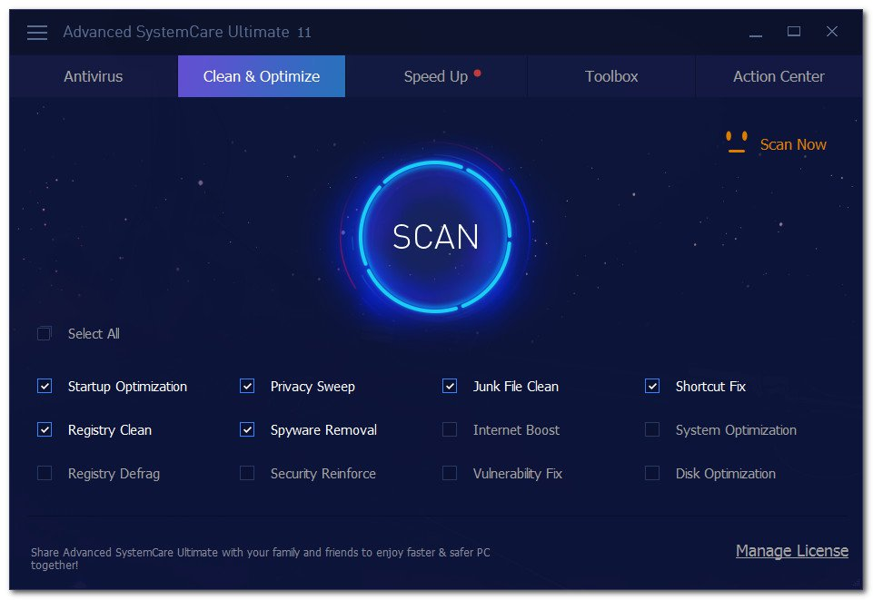 Advanced SystemCare Ultimate 11 Full Version Cracked