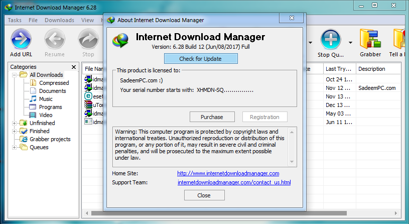 patch for idm 6.28 build 12