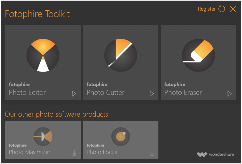 Wondershare Fotophire Toolkit Full Version Cracked