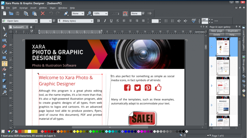 Xara Photo & Graphic Designer 10.1.1.34966 Final | free ...