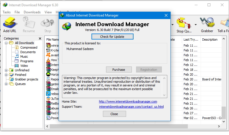 IDM 6.30 Build 7 Crack Full Version